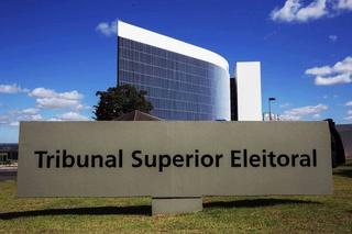 Prédio do tribunal superior eleitoral em Brasilia.