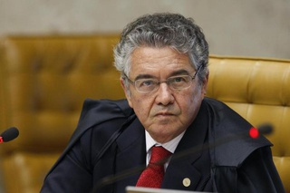 Ministro Marco Aurélio do Supremo Tribunal Federal.